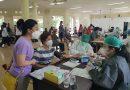 Ratusan Lansia Warga TSI Kalideres Jalani Vaksin Covid-19 Tahap Pertama