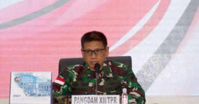 Kodam XII/Tpr Laksanakan Pembekalan PPKM Skala Mikro dan Sosialisasi Aplikasi Silacak