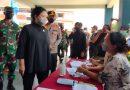 Pangdam Jaya Bersama Ketua DPR-RI Gelar serbuan vaksinasi di Tegal Alur